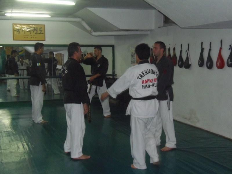 2013. december 2. Hapkido övvizsga